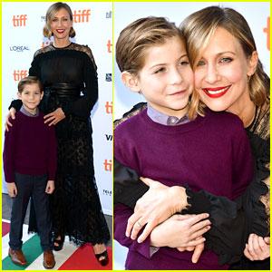 Vera Farmiga Attends TIFF Premiere with Cutie Jacob Tremblay