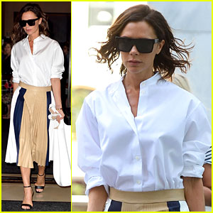 Victoria Beckham's Daughter Harper Can Wear Heels Better Than Most Grown-Ups!