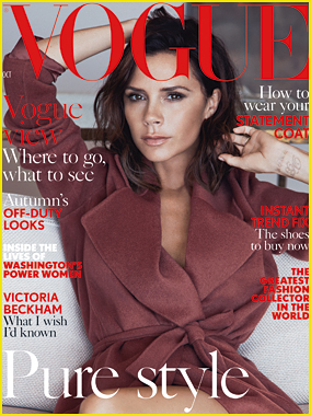 Victoria Beckham Reveals How She Fell In Love with Hubby David In 'British Vogue'!