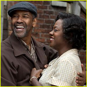 Denzel Washington & Viola Davis Star in 'Fences' - First Look Photos!