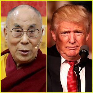 Watch the Dalai Lama Do His Impression of Donald Trump!