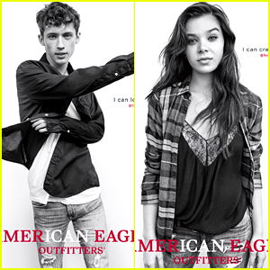 Hailee Steinfeld & Troye Sivan Promote American Eagle Outfitters' #WeAllCan Campaign