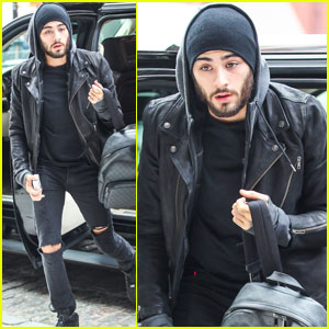 Zayn Malik Steps Out After Boy Band Show Announcement