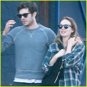Adam Brody & Leighton Meester Couple Up For Breakfast in LA