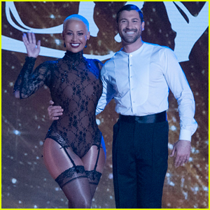 Amber Rose Does Cirque du Soleil on 'DWTS' Week 4 - Watch Now!