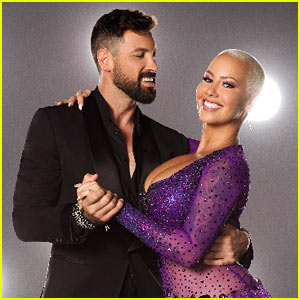 Amber Rose Does the Cha Cha For Latin Week on DWTS - Watch It!