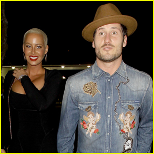 Amber Rose & Val Chmerkovskiy Head to Dinner Together Amid Dating Rumors