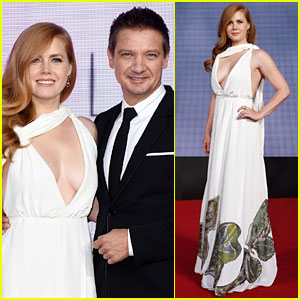 Jeremy Renner Wants Amy Adams for President: 'I'll Be Her VP!'