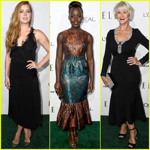 Amy Adams, Lupita Nyong'o & Helen Mirren Celebrate Their Honor at 'Elle' Women In Hollywood Awards