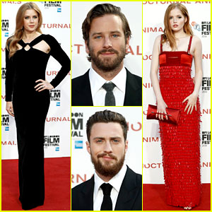 Amy Adams & Tom Ford's 'Nocturnal Animals' Cast Premiere Film in London!