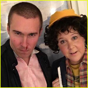 Amy Schumer & Boyfriend Ben Hanisch Channel 'Stanger Things' For Halloween!