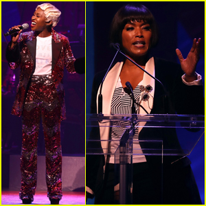Angela Bassett & Cynthia Erivo Take the Stage at Hillary Clinton's Broadway Fundraiser