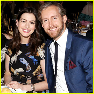 Anne Hathaway Joins Her Husband to Support a Good Cause