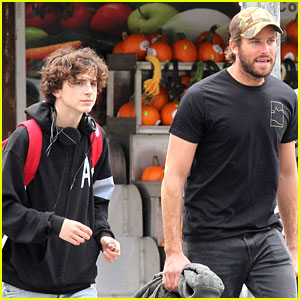 Armie Hammer Hangs Out with Timothee Chalamet in New York