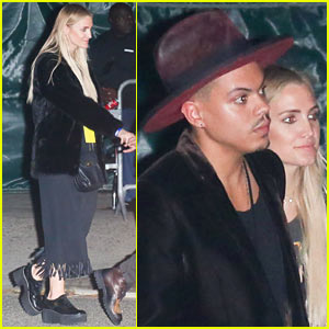 Ashlee Simpson & Evan Ross Make it a Date Night at Lady Gaga's Final Dive Bar Show