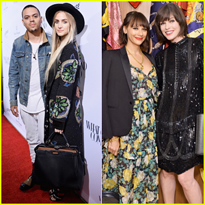 Ashlee Simpson & Evan Ross Couple Up At What Goes Around Comes Around Beverly Hills Opening!
