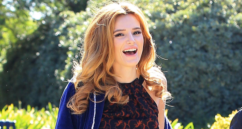 Billy Bush Yes Donald Trump Said >> Bella Thorne Poses In Boyfriend Tyler Posey's Underwear!   Bella Thorne, Tyler Posey : Just Jared
