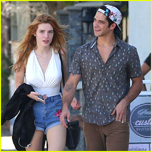 Bella Thorne & Tyler Posey Grab Lunch Together After 'Famous in Love' Wrap