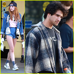 Bella Thorne & Tyler Posey Purchase a Big Screen TV Together