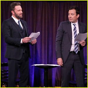 Ben Affleck & Jimmy Fallon Act Out 'Accountant' Scripts Written By Kids! (Video)