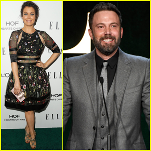 Ben Affleck Helps Honor Anna Kendrick at Elle Women In Hollywood Awards