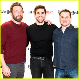 Ben Affleck & Matt Damon Reprise 'Good Will Hunting' Roles in John Krasinski's Live Read!