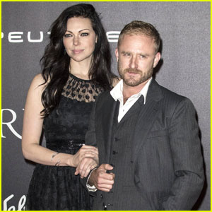 Ben Foster Brings New Fiancee Laura Prepon to 'Inferno' Premiere in Italy