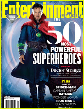 Benedict Cumberbatch Covers 'EW' as Doctor Strange!