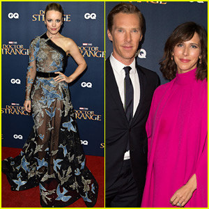 Benedict Cumberbatch & Rachel McAdams Attend 'Doctor Strange' Fan Event in the UK!