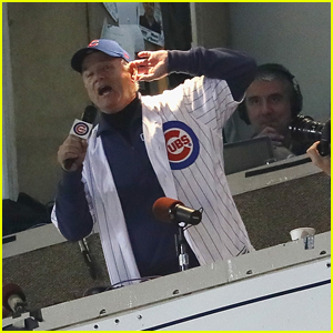Bill Murray Sings 'Take Me Out to the Ball Game' During the World Series - Watch Now!