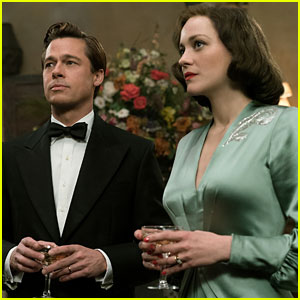 Brad Pitt & Marion Cotillard's 'Allied' Trailer - Watch Now!