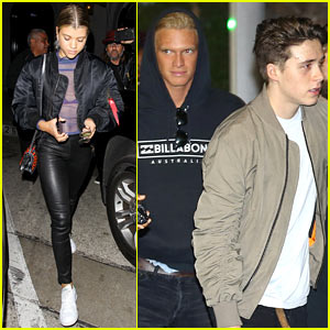 Brooklyn Beckham & Cody Simpson Buddy Up for Kanye West's L.A. Concert
