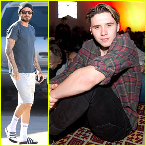 Brooklyn Beckham Catches 'A Nightmare on Elm Street' Cinespia Screening
