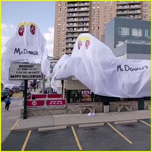 Burger King Store Dresses as McDonald's for Halloween!