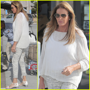 Caitlyn Jenner Gets Some Grocery Shopping Done in Malibu