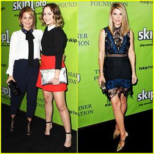 Candace Cameron Bure & Daughter Natasha Reunite with 'Fuller House' Cast At Skip1 Night!