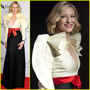 Cate Blanchett Stuns in Gucci Dress for IWC Gala in London