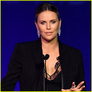 Charlize Theron Jokes That She's 'Very Fat' Right Now