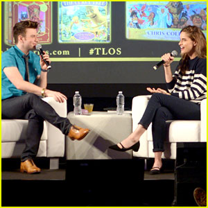Chris Colfer Chats Up New Books at EW PopFest