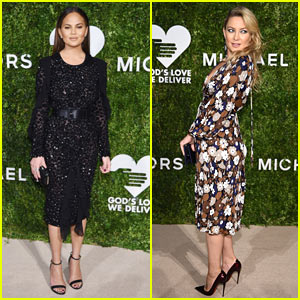 Chrissy Teigen & Kate Hudson Go Glam for God's Love We Deliver 2016 Golden Heart Awards!