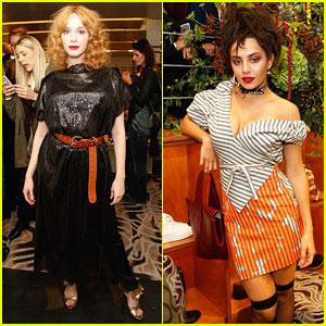 Christina Hendricks & Charli XCX Celebrate Vivienne Westwood Paris Store Opening!