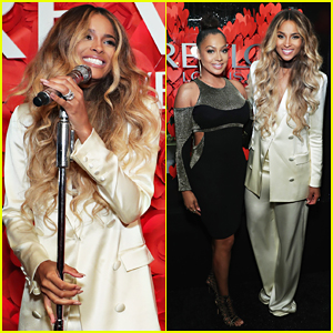 Ciara Celebrates Being Named Revlon's New Global Brand Ambassador!
