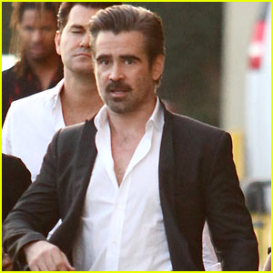 Colin Farrell Says His Kids Were 'Unimpressed' By His 'Fantastic Beasts' Role - Watch!