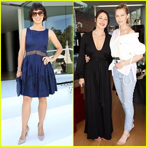 Constance Zimmer & Sara Foster Support Tamara Mellon's Luxury Shoe Brand Relaunch!