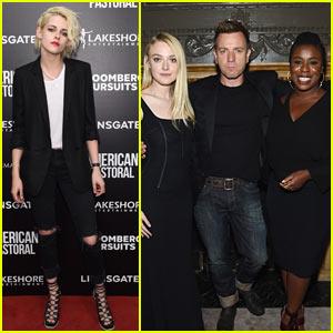 Kristen Stewart Supports Former 'Twilight' Co-Star Dakota Fanning at 'American Pastoral' Screening