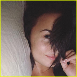 Demi Lovato Is Back to Brunette After Going Blonde!
