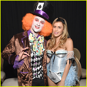 Ryan Lochte Is The Mad Hatter For Halloween!
