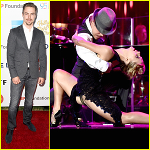 Derek Hough Performs Dramatic Tango at MPTF's Night Under The Stars Anniversary Celebration