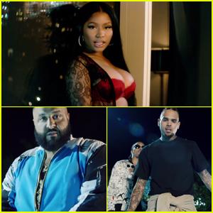 DJ Khaled, Nicki Minaj, Chris Brown & Future Drop 'Do You Mind' Music Video - Watch Now!