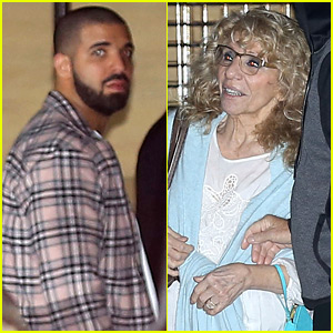 Drake Spends His Birthday at Dinner with His Mom!